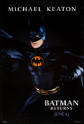 """Movie Posters:Action, Batman Returns (Warner Brothers, 1992). One Sheet (27"""" X 40"""")Advance Batman Style. Action.. ..."""