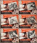 "Movie Posters:Adventure, Bwana Devil (United Artists, 1950s). Mexican Lobby Cards (11)(12.5"" X 16.5"") 3-D Style. Adventure.. ... (Total: 11 Items)"