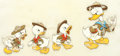 Animation Art:Color Model, Good Scouts Donald Duck and Huey, Dewey, and Louie ColorModel Cel (Walt Disney, 1938)....