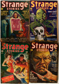 Pulps:Horror, Strange Stories Group (Better Publications, 1939-40) Condition:Average GD/VG.... (Total: 5 Items)