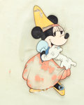 Animation Art:Production Cel, The Brave Little Taylor Minnie Mouse Color Model Cel (WaltDisney, 1938)....