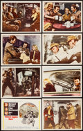 "Movie Posters:War, Where Eagles Dare (MGM, 1968). International Lobby Card Set of 8(11"" X 14"") & Uncut Pressbook (12 Pages, 12.25"" X 17""). War...(Total: 9 Items)"