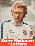 "Movie Posters:Sports, Le Mans (National General, 1971). German A1 (23.25"" X 30""). Sports.. ..."