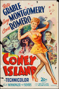 "Movie Posters:Musical, Coney Island (20th Century Fox, 1943). One Sheet (27"" X 41""). Musical.. ..."