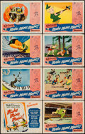 "Movie Posters:Animation, Make Mine Music (RKO, 1946). Lobby Card Set of 8 (11"" X 14""). Animation.. ... (Total: 8 Items)"