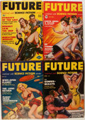 Pulps:Science Fiction, Future Group (Columbia, 1950-52) Condition: Average FN.... (Total:14 Comic Books)