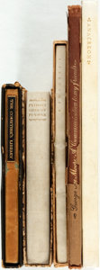 Books:Fine Bindings & Library Sets, [Nonesuch Press]. Group of Five Books Published by The Nonesuch Press. Includes selections by Thomas Beedome, Pindar, John D... (Total: 5 Items)