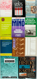 Books:Science & Technology, [Science and Technology]. Group of Thirty Books on Evolution and Genetics. Various publishers and dates. Original bindings a... (Total: 30 Items)