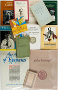 Books:Books about Books, [Books about Books]. Group of Thirty-One Books about Books. Various publishers and dates. Original bindings and dust jackets... (Total: 31 Items)