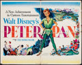 """Movie Posters:Animation, Peter Pan & Others Lot (RKO, 1953). Half Sheet (22"""" X 28"""")Style A & One Sheets (2) (27"""" X 41""""). Animation.. ... (Total: 3Item)"""