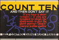"""Movie Posters:Miscellaneous, Count Ten and Then Don't Say It (Mather and Company, 1923). Motivational Poster (28"""" X 41.5""""). Miscellaneous.. ..."""