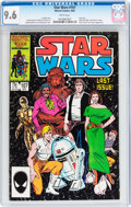 Modern Age (1980-Present):Science Fiction, Star Wars #107 (Marvel, 1986) CGC NM+ 9.6 White pages....