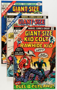 Kid Colt Outlaw Group (Marvel, 1969-79) Condition: Average FN+.... (Total: 91 Comic Books)