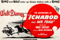 Memorabilia:Disney, The Adventures of Ichabod and Mr. Toad Campaign Book (Walt Disney, 1949)....