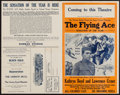 """Movie Posters:Black Films, The Flying Ace (Norman, 1926). Uncut Pressbook (4 Pages, 14"""" X22""""). Black Films.. ..."""