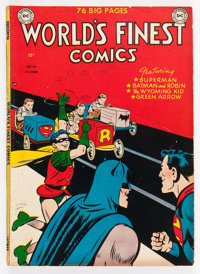 World's Finest Comics #44 (DC, 1950) Condition: VG/FN