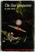 Books:Science Fiction & Fantasy, Ben Bova. The Star Conquerors. Philadelphia: John C.Winston, [1959]. First edition, first printing. Publisher's gre...