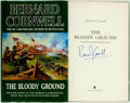 Books:Literature 1900-up, Bernard Cornwell. SIGNED. The Bloody Ground. London: HarperCollins, [1996]. First edition, first printing. Signed...