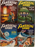 Pulps:Science Fiction, Assorted Science Fiction Pulps Group (Various Publishers, 1950s)Condition: Average VG....