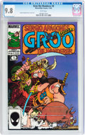 Modern Age (1980-Present):Humor, Groo the Wanderer #9 (Marvel, 1985) CGC NM/MT 9.8 White pages....