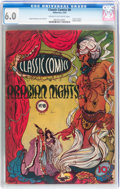 Golden Age (1938-1955):Classics Illustrated, Classic Comics #8 Arabian Nights - Original Edition (Gilberton, 1943) CGC FN 6.0 Cream to off-white pages....