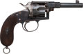 Handguns:Single Action Revolver, Schilling Haenel Model 1883 Single Action Revolver....