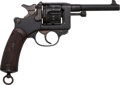 Handguns:Double Action Revolver, French St. Etienne Model 1892 Double Action Service Revolver....