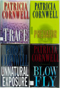 Books:Mystery & Detective Fiction, Patricia Cornwell. SIGNED. Predator, Trace, Blow Fly [and:]Unnatural Exposure. New York: Putnam's, [1997-20... (Total:4 Items)