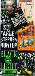 Books:Mystery & Detective Fiction, Stephen Hunter. SIGNED. Group of Seven Books. Various publishersand dates. Includes five first editions, one of which is ...(Total: 7 Items)