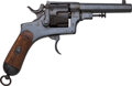 Handguns:Double Action Revolver, Italian Glisenti Brescia Model 1898 Double Action Revolver with Holster....
