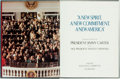 Books:Americana & American History, [Jimmy Carter]. SIGNED. The Inauguration of President JimmyCarter and Vice President Walter F. Mondale. The 1977 In...