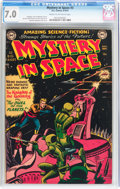 Golden Age (1938-1955):Science Fiction, Mystery in Space #3 (DC, 1951) CGC FN/VF 7.0 Cream to off-whitepages....