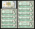 Canadian Currency: , Canada and Scotland Notes.. ... (Total: 10 notes)