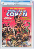Magazines:Miscellaneous, Marvel Comics Super Special #2 Savage Sword of Conan (Marvel, 1977)CGC NM/MT 9.8 White pages....