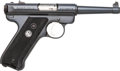 Handguns:Semiautomatic Pistol, Sturm Ruger Model MK II Semi-Automatic Pistol with Holster....