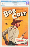 Golden Age (1938-1955):Western, Bob Colt #2 Hawkeye pedigree (Fawcett Publications, 1951) CGC VF+ 8.5 Off-white to white pages....