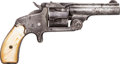 Handguns:Single Action Revolver, Smith & Wesson Model One And A Half Single Shot Revolver....