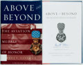 Books:Americana & American History, Barrett Tillman. SIGNED. Above and Beyond: The Aviation Medalsof Honor. Smithsonian Institution Press, [2002]. Si...