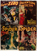 Pulps:Miscellaneous, Assorted Hero Pulps Group (Various, 1938-50).... (Total: 4 Items)