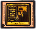 "Movie Posters:Adventure, Easy to Get (Paramount, 1920). Glass Slide (3.25"" X 4"").Adventure.. ..."