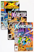 Modern Age (1980-Present):Superhero, X-Factor Related Short Box Group (Marvel, 1986-98) Condition:Average NM....