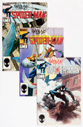Modern Age (1980-Present):Superhero, Web of Spider-Man #1-129 Short Box Group (Marvel, 1985-95)Condition: Average NM....