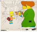 "Animation Art:Production Cel, The Simpsons ""Bart Gets an 'F' "" Bart Production Cel Setup(Fox, 1990).... (Total: 3 Items)"