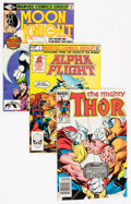 Modern Age (1980-Present):Miscellaneous, Marvel Modern Age Short Box Group (Marvel, 1980s) Condition: Average NM-....