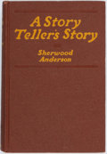 Books:Literature 1900-up, Sherwood Anderson. SIGNED. A Story Teller's Story. New York:B.W. Huebsch, 1924. First edition, first printing. Si...