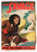 Pulps:Hero, Doc Savage - Spring 1949 (Street & Smith, 1949) Condition: VG....