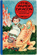 Books:Children's Books, Johnny Gruelle. The Paper Dragon. Joliet: P.F. Volland,1926. First edition, first printing. With color illustration...