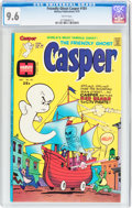 Bronze Age (1970-1979):Cartoon Character, Friendly Ghost Casper #181 (Harvey, 1975) CGC NM+ 9.6 White pages....
