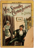 "Books:Periodicals, [Thomas Worth, ""Bricktop"", Illustrator]. Mr. and Mrs. Snoodles.Mrs. Snoodles' Curtain Lectures Abounding in Fun, Wit, M..."