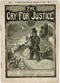 Books:Periodicals, [Comic Illustrations]. The Cry for Justice: A Weekly JournalDevoted to New Thought. New York: Bernarr [sic] MacFadd...
